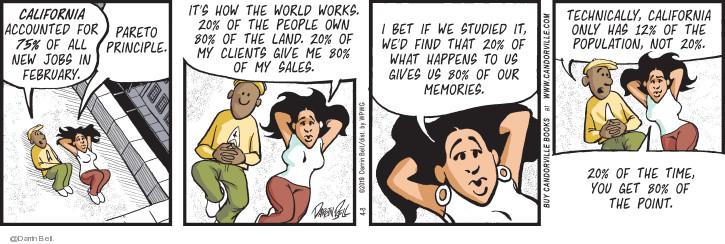 Comic Strip Darrin Bell  Candorville 2019-04-08 bet it all
