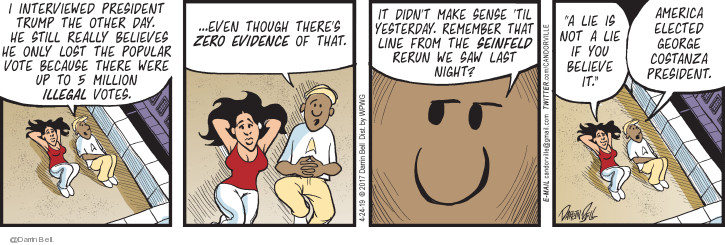 Comic Strip Darrin Bell  Candorville 2019-04-24 interview