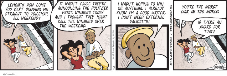 Comic Strip Darrin Bell  Candorville 2019-04-29 wasn't