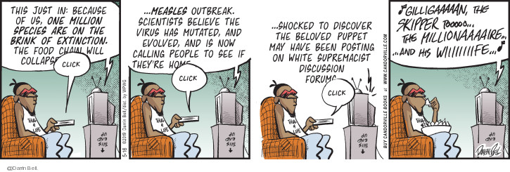 Comic Strip Darrin Bell  Candorville 2019-05-16 supremacist