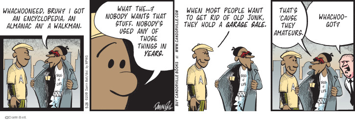 Comic Strip Darrin Bell  Candorville 2019-05-28 nobody