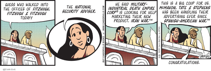 Comic Strip Darrin Bell  Candorville 2019-05-29 military