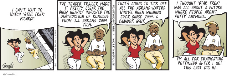 Comic Strip Darrin Bell  Candorville 2019-06-04 movie film