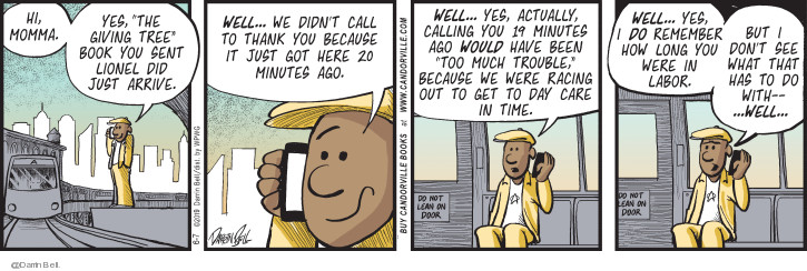 Comic Strip Darrin Bell  Candorville 2019-06-07 didn't