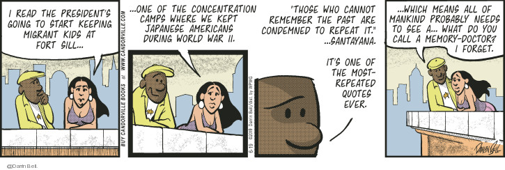 Comic Strip Darrin Bell  Candorville 2019-06-19 immigrant