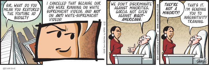 Comic Strip Darrin Bell  Candorville 2019-06-22 supremacist