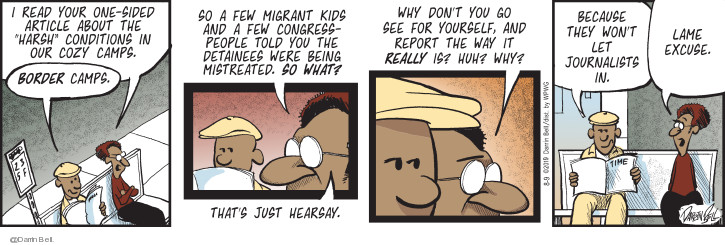 Comic Strip Darrin Bell  Candorville 2019-08-09 immigrant
