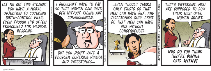 Comic Strip Darrin Bell  Candorville 2019-08-15 woman