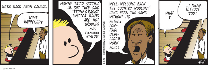 Comic Strip Darrin Bell  Candorville 2019-08-31 paid