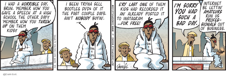 Comic Strip Darrin Bell  Candorville 2019-09-06 speech