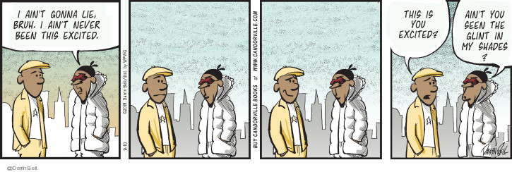 Comic Strip Darrin Bell  Candorville 2019-09-10 happy