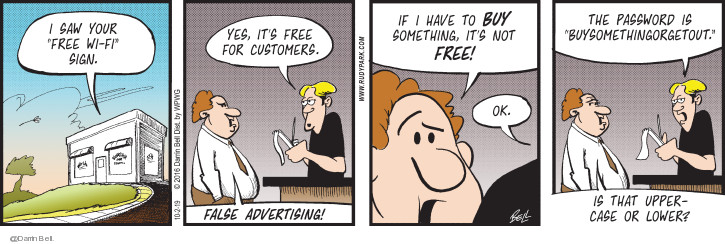 Comic Strip Darrin Bell  Candorville 2019-10-02 customer