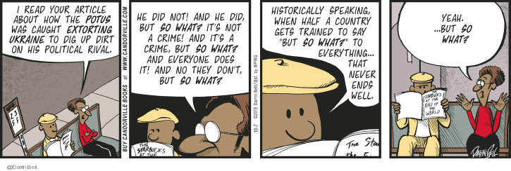Comic Strip Darrin Bell  Candorville 2019-10-07 train