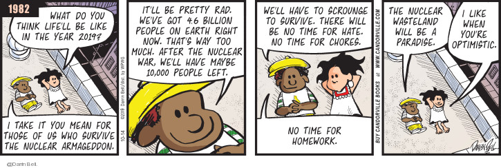 Comic Strip Darrin Bell  Candorville 2019-10-14 earth