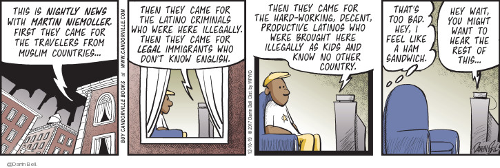 Comic Strip Darrin Bell  Candorville 2019-12-10 immigration