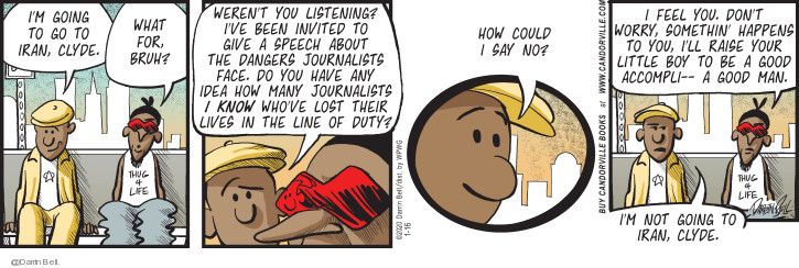 Comic Strip Darrin Bell  Candorville 2020-01-16 journalist