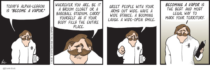 Comic Strip Darrin Bell  Candorville 2020-01-18 baseball
