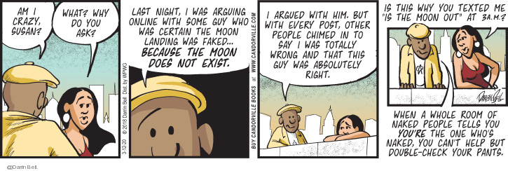 Comic Strip Darrin Bell  Candorville 2020-03-12 wrong