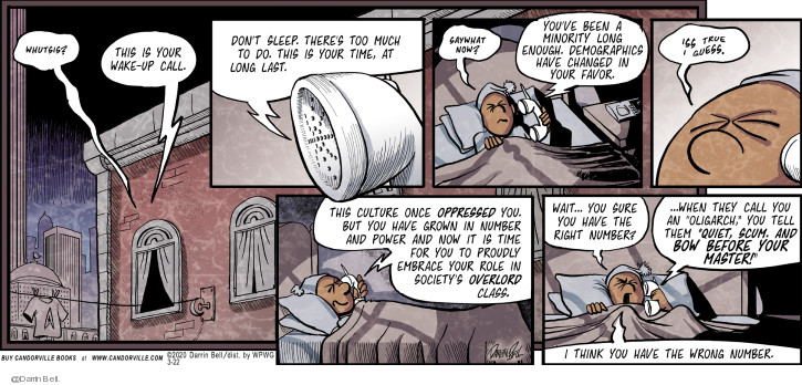 Comic Strip Darrin Bell  Candorville 2020-03-22 sleep