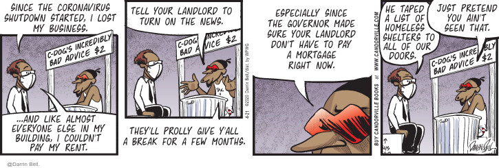 Comic Strip Darrin Bell  Candorville 2020-04-21 building