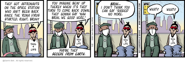 Comic Strip Darrin Bell  Candorville 2020-05-22 imagine