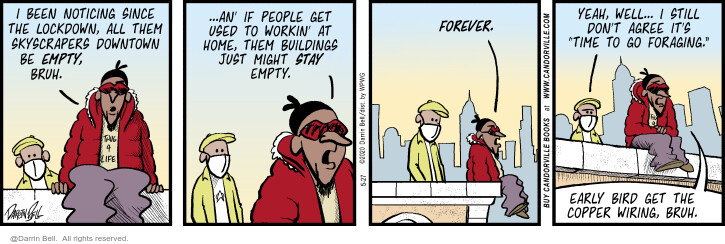 Comic Strip Darrin Bell  Candorville 2020-05-27 building