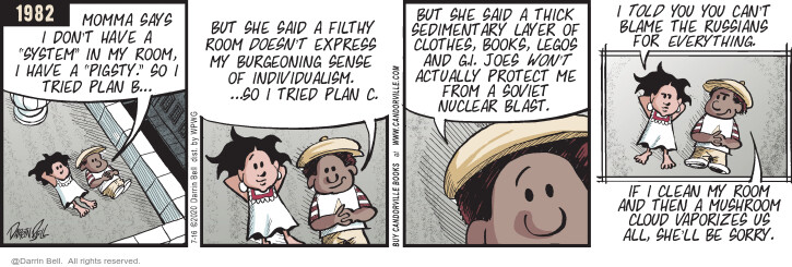 Comic Strip Darrin Bell  Candorville 2020-07-16 book