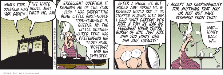 Comic Strip Darrin Bell  Candorville 2020-08-21 employee