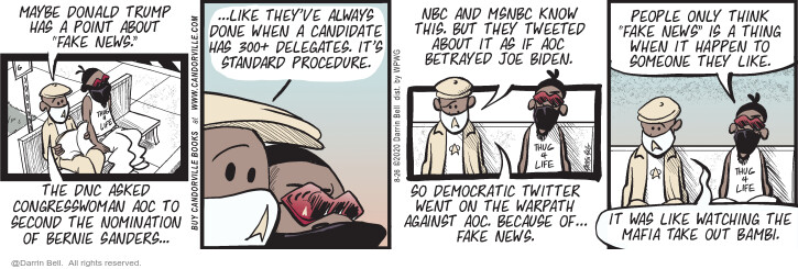 Comic Strip Darrin Bell  Candorville 2020-08-26 news