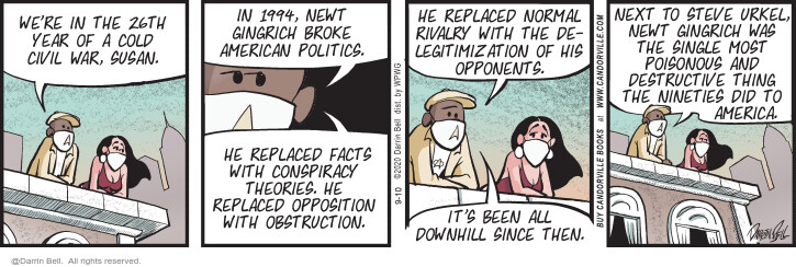Comic Strip Darrin Bell  Candorville 2020-09-10 politics