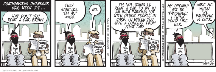 Comic Strip Darrin Bell  Candorville 2020-09-29 week