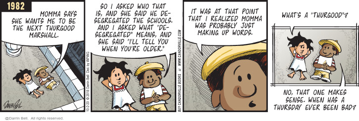 Comic Strip Darrin Bell  Candorville 2020-10-02 parent