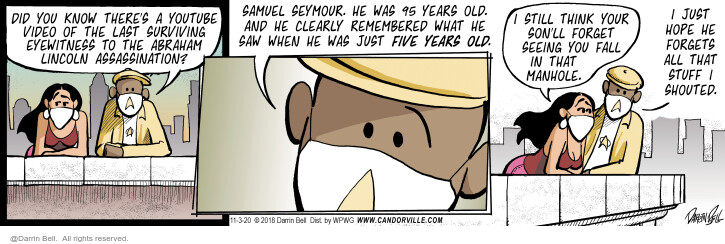 Comic Strip Darrin Bell  Candorville 2020-11-03 parent