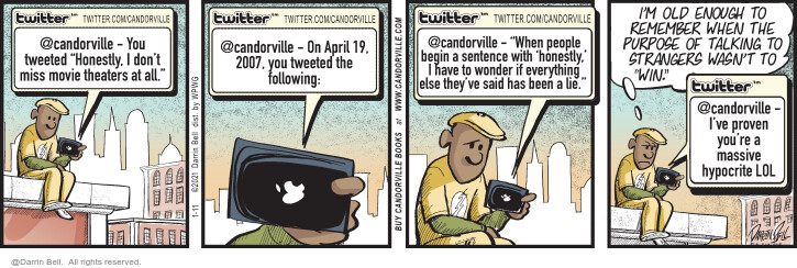 Comic Strip Darrin Bell  Candorville 2021-01-11 say