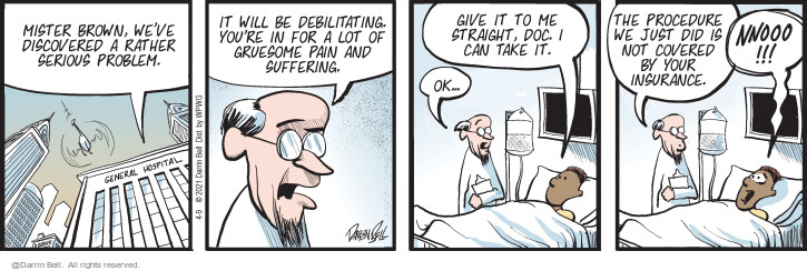 Comic Strip Darrin Bell  Candorville 2021-04-09 didn't
