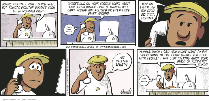 Comic Strip Darrin Bell  Candorville 2021-05-09 can