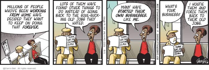 Comic Strip Darrin Bell  Candorville 2021-05-18 like