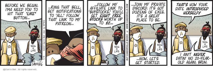 Comic Strip Darrin Bell  Candorville 2021-05-19 private network