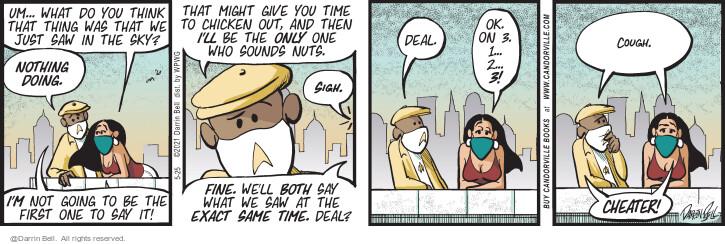 Comic Strip Darrin Bell  Candorville 2021-05-25 sigh