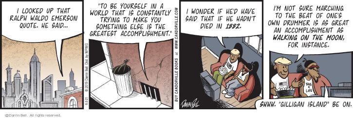 Comic Strip Darrin Bell  Candorville 2021-06-03 world