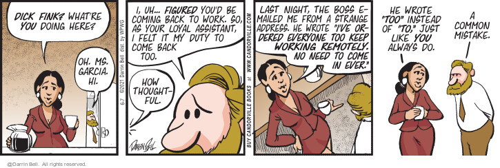 Comic Strip Darrin Bell  Candorville 2021-06-07 last