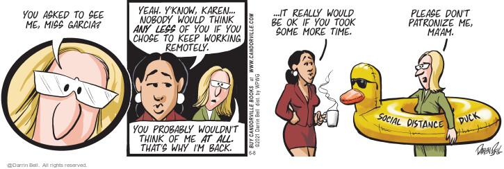 Comic Strip Darrin Bell  Candorville 2021-06-08 nobody