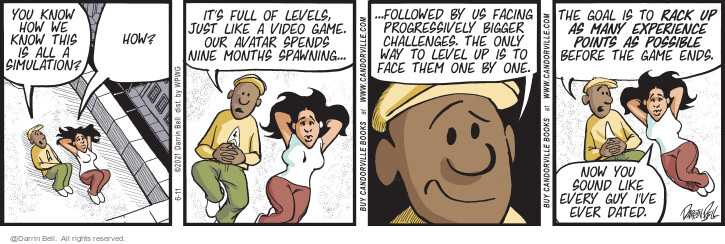 Comic Strip Darrin Bell  Candorville 2021-06-11 our