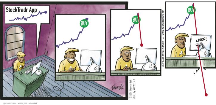 Comic Strip Darrin Bell  Candorville 2021-07-04 financial