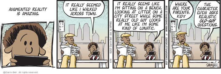 Comic Strip Darrin Bell  Candorville 2021-06-19 city