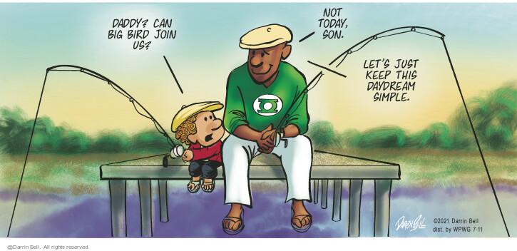 Comic Strip Darrin Bell  Candorville 2021-07-11 father