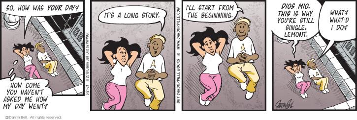 Comic Strip Darrin Bell  Candorville 2021-06-21 single