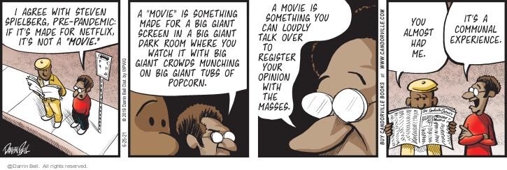 Comic Strip Darrin Bell  Candorville 2021-06-25 talk