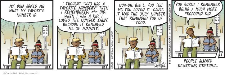 Comic Strip Darrin Bell  Candorville 2021-06-26 big