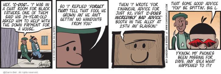 Comic Strip Darrin Bell  Candorville 2021-06-30 financial